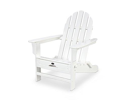 Trex Outdoor Furniture Cape Cod Ultimate Adirondack in Classic White