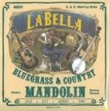 La Bella Mandolin Loop End Phosphor Bronze Wound Heavy