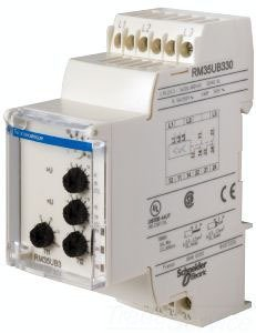 SCHNEIDER ELECTRIC RM35UB330 3-Phase Relay 250V 5 Amp Rm35 by Schneider Electric (Image #1)