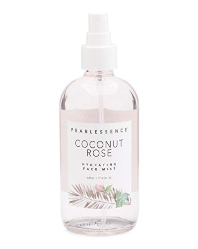 Pearlessence Coconut Rose Hydrating Face Mist, 8 oz