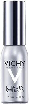 Vichy LiftActiv Serum 10 Eyes and Lashes Anti-Wrinkle Eye Serum with Hyaluronic Acid, 0.51 Fl. Oz.