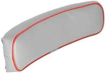 Backrest Vinyl Gray with Red Trim Massey Ferguson 40 40 35 30 135 50 20 150 65