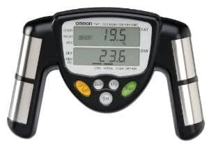 Premium High Quality Omron Body Fat Loss Monitor model HBF-306C(Black)