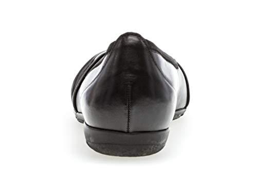 Gabor classiquement Luftkammernsohle Hovercraft Classiques ballerines chaussures Femme 24 D'été Schwarz 150 ballerines prqfgpw