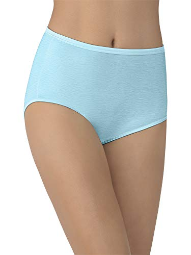 Vanity Fair Women's Underwear Illumination Brief Panty 13109, Blue Topaz, Large/7 ()