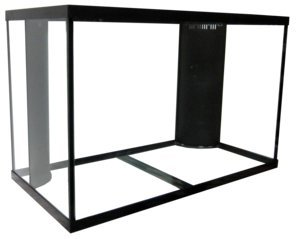 150-gallon-high-dual-reef-ready-framed-aquarium-with-plumbing-kit-by-aquarium-masters-for-marine-fis
