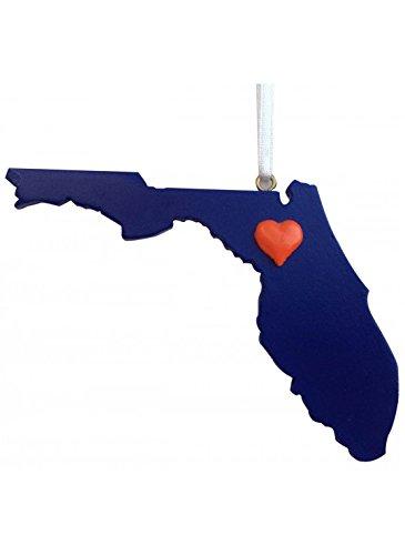 - Florida Gators Heart State Ornament Gainesville