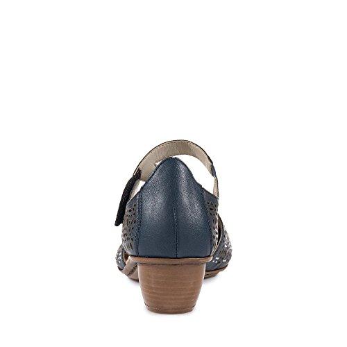 Rieker 43786 14 Blau Donna Scarpe 0g0arq
