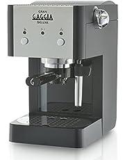 Gaggia ri8425/11 Macchina da caffè Manuale ri8425 11/volautomatische espressomachine, acrylonitril-butadieen-styreen, 2 kopjes, zwart/zilver