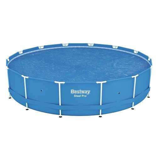 Bestway 58252 Solar Pool Cover, 14-Feet