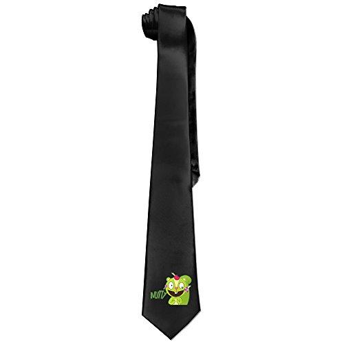 Ggift Happy Tree Friends Nutty Men's Fashion Business Solid Necktie Tie
