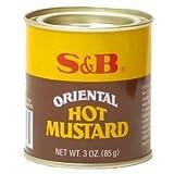 S&B Oriental Hot Mustard, 3 oz (Pack of 3)