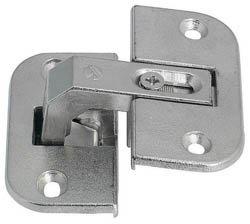 - Pie-Cut Corner Hinge (pair of hinges) by Hafele America