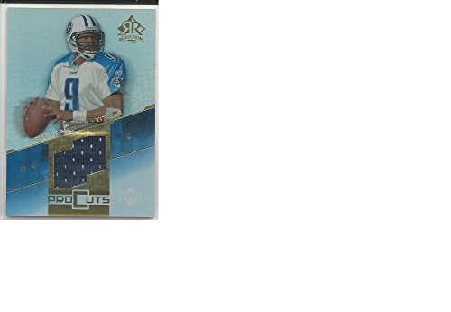 Mem Pc (Football NFL 2004 Upper Deck Reflections #PC-ST Steve Mcnair #PC-ST NM MEM)
