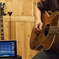 If you have an acoustic, Rock Prodigy works with your PC, Mac or iPad