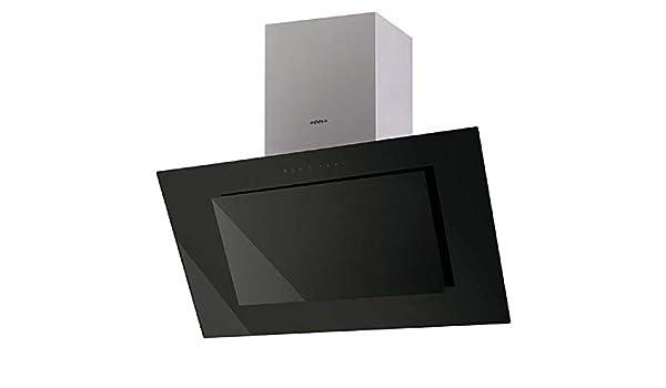 Edesa ECV-9831 GBK 850 m³/h De pared Negro, Acero inoxidable A - Campana (850 m³/h, Canalizado/Recirculación, A, A, B, 67 dB): Amazon.es: Hogar