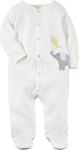 Carter's Baby Elephant Kite Snap up Fleece Sleep and Play 9 Months (Elephant Kite)