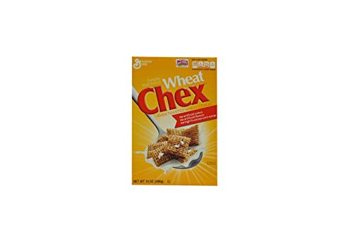 Wheat Chex Oven Toasted Wheat Cereal 14 oz (Pack of 10)
