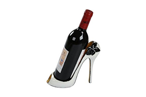 8-x-7H-High-Heel-Wine-Bottle-Holder-Stylish-Conversation-Starter-Wine-Rack-By-Trademark-Innovations-White-Flower