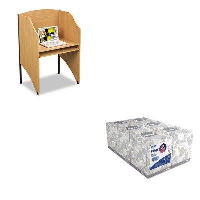 KITBLT89868KIM21271 - Value Kit - Balt Floor Carrel (BLT89868) and KIMBERLY CLARK KLEENEX White Facial Tissue (KIM21271) (Balt Floor Carrel)