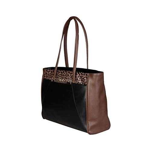 Women Shopping Designer Bag Cavalli Genuine Class Bag Black Shopping qwP55Cg