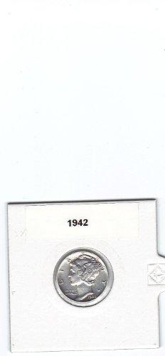 One(1) Silver Mercury Dime-90% Silver