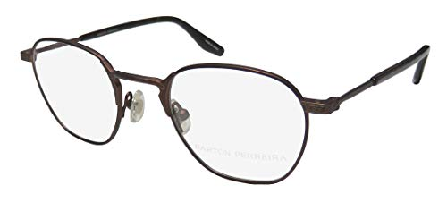 Barton Perreira Ginsberg Mens/Womens Designer Full-rim Highest Quality Hip Eyeglasses/Eyewear (46-21-145, ()