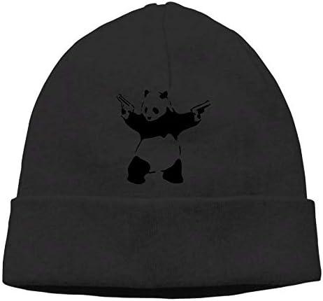 Michgton Beanie Cap Skull Caps Winter Warm Classic Cool Panda Mens