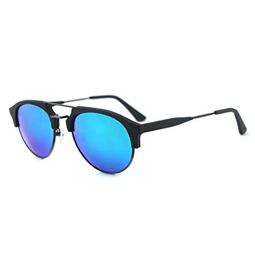 al sol C99 aire de azul de Gafas película viaje sol libre Zhangxin hombres verde los grano C10 madera ocio de de gafas polarizadas qZa1EOU