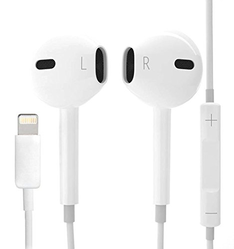 HomeBot iPhone 7 Inner Ear Headphones, Wired Headset Earbuds w/ Volume Control for iPhone 7 iphone 6/6S Plus