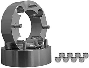 SuperATV Can-Am Heavy Duty 1.5 Aluminum Wheel Spacers 1 Pair 4//137 mm bolt pattern