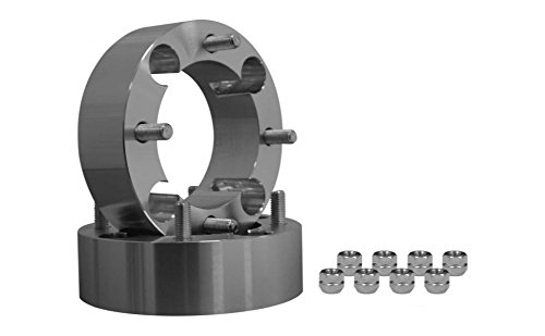 SuperATV Polaris Heavy Duty 2'' Aluminum Wheel Spacers - 4/156 mm bolt pattern (1 Pair) by SuperATV.com (Image #1)