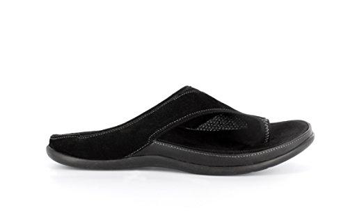 Colorado Footwear Stylish Black Strive Nubuck Sandal Orthotic 50xqZ