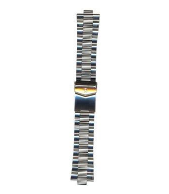 Swiss Army Brand 9.5/24mm Satin Stainless Steel Bracelet Large by Swiss Army Brand