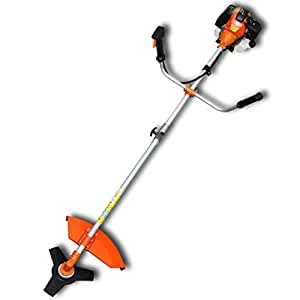 VidaXL 141003 2200W Gasolina Naranja cortabordes y desbrozadora - Cortacésped (Naranja, 1,2 L, Gasolina, 2200 W, 8 kg)
