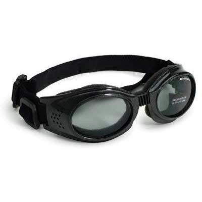 Original Dog Lenses Size: Large, Color: Black Frame / Smoke Lenses by Doggles