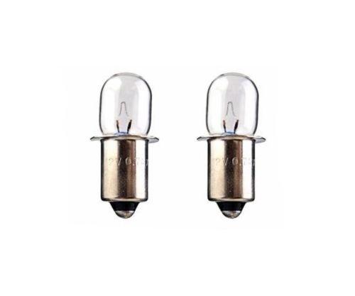 (2) 12 Volt Xenon Flashlight Bulbs for Bosch Work Light (Xenon Flash)