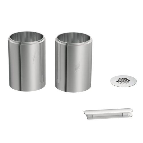 Moen A1717 Icon Vessel Faucet Extension Kit, Chrome