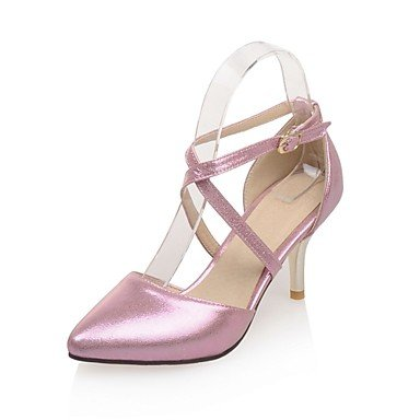 Zormey Women'S Shoes Stiletto Heel /Pointed Toe Party &Amp; Evening/Dress Pink/Silver/Gold US6.5-7 / EU37 / UK4.5-5 / CN37