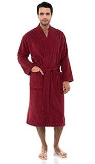 TowelSelections Men's Robe, Turkish Cotton Terry Kimono Bathrobe (B07BNFZDRP)   Amazon price tracker / tracking, Amazon price history charts, Amazon price watches, Amazon price drop alerts