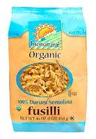Bionaturae Organic 100% Durum Semolina Fusilli Pasta -- 16 oz