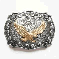 Golden Eagle Western Belt - Eagle Western