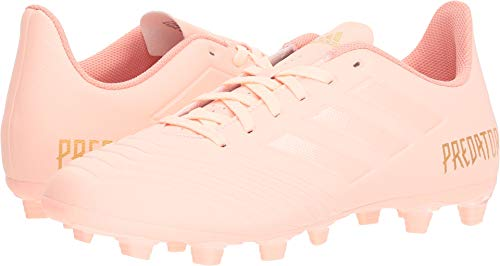 r 18.4 Firm Ground Soccer Shoe, Clear Orange/Trace Pink, 12 M US ()