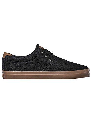 Sneaker gum Herren Willow Globe hemp black 8qASRWcP6