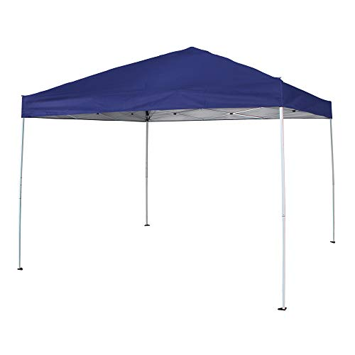 Cloud Mountain Pop Up Canopy Tent 118' x 118' UV Coated Outdoor Garden Instant Canopies Tent Easy Set Up with Carry Bag, Blue