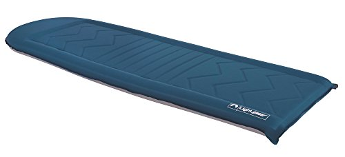 Lightspeed Outdoors Flexform Fit PVC-Free Seld Inflating Sleep Pad (Blue/Gray)