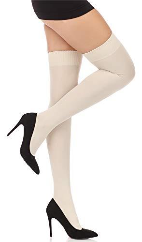 Thigh Mssst8002 Socks Style Donna Lingerie Long Avioro Merry tPqZAf8w