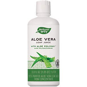 Natures Way Organic Aloe Vera Whole Leaf Juice - 33.8 fl oz
