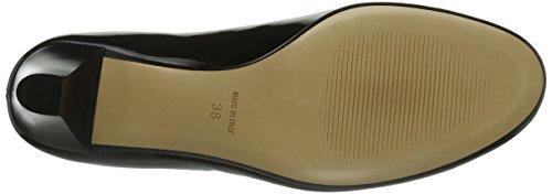 Pumps Donna col Evita Nero Nero Scarpe tacco Shoes Geschlossen BIYY5wqC