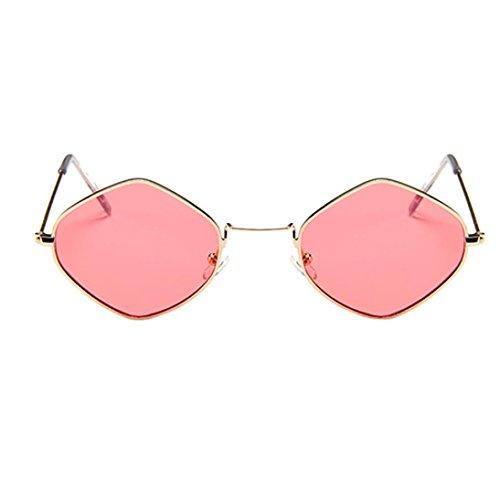 Shades Diamond de Gafas Herren Sol Gafas Sunglasses C Mujer Btruely de Hombre para Sol Frame Retro Eyewear D clásicas Metal FBY4vxnwqn